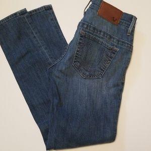 True Religion skinny Jean's sz 25. EUC